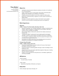 5 6 Entry Level Nursing Assistant Resume Formatmemo