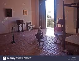 Puerto Rico Bedroom Furniture Bedroom At Casa Blanca Museum In Old San Juan Puerto Rico Stock