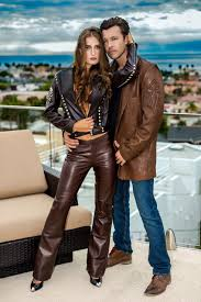 50 shades of brown collection from the evolution of leather fashion catalog