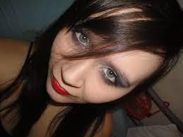 smokey emo eye makeup by pippierafrostlin
