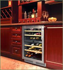 Wine Cooler Cabinet Insert Fridge Furniture Tresanti Costco