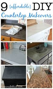 affordable diy countertop makeovers diy countertop redo diy countertop ideas countertop redo