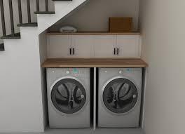 create a laundry cupboard