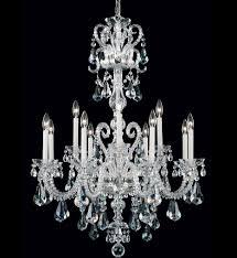 schonbek novielle 12 light crystal chandelier undefined