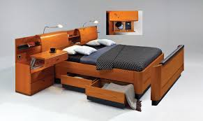 multifunctional furniture for small spaces. Multifunctional Furniture Of Bed With Shelfs Desk And Cabinet For Small Spaces