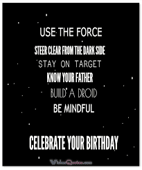 Famous Star Wars Quotes Best Star Wars Quotes Good Morning And Birthday Wishes For Fans