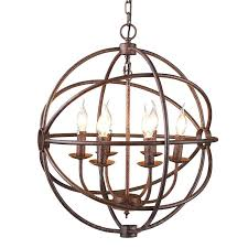 iron orb chandelier chandelier exciting iron orb chandelier orb chandelier round brown chandeliers and brown candle
