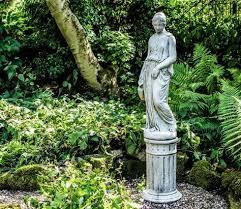 mastiff garden statue
