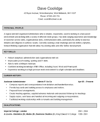 Sample Administration Resume Gorgeous Administrator CV Example Hashtag CV