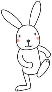 素材集かわいい カッコイイ うさぎのイラストまとめ Naver まとめ