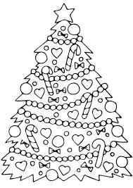Versierde Kerstboom Kleurplaat Gratis Kleurplaten Printen