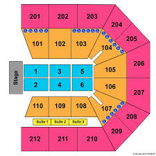 College Park Center Seating Chart College Park Center Tickets And College Park Center Seating