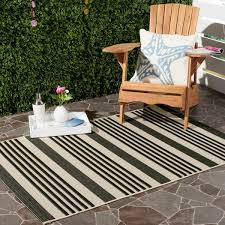 9 12 indoor outdoor rugs fresh safavieh courtyard stripe black bone indoor outdoor rug 9 images