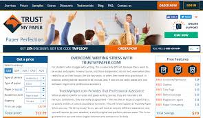 trustmypaper com review college paper writing service reviews services offered