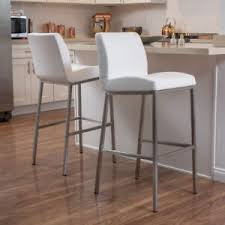 chic modern bar stools. Exellent Chic Image Is Loading SturdyBarStoolsSetof2BondedLeather On Chic Modern Bar Stools