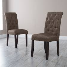 morgana tufted parsons dining chair  set of   hayneedle