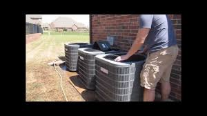goodman ac unit. goodman condenser cleaning - multizone unit ac clean air conditioner coils youtube ac