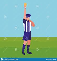 Referee Design Soccer Referee Design Stock Vector Illustration Of