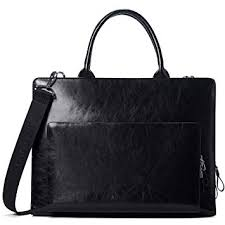 BOSTANTEN Genuine <b>Leather Briefcase</b> Business <b>Office</b> Crossbody ...