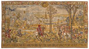 wall tapestry meval brussels horizontal