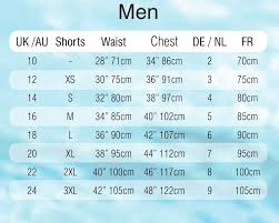 Sport Block Brands Sizecharts
