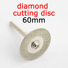 dremel diamond bits. diamond cutting disc for mini drill dremel tools accessories 60mm steel rotary tool circular saw abrasive blade bits