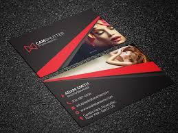 036 Photographer Visiting Card Templates Psd Template Ideas