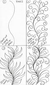 Featherfall Zentangle Pattern Google Search
