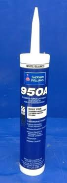 12 Sherwin Williams Siliconized Acrylic Latex Caulk 950a White Interior Ext