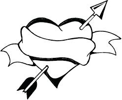 Heart Coloring Pages Pdf Heart Coloring Pages Hearts Ribbon