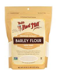 barley flour calories and nutrients
