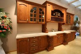kitchen cabinet stain colors white polished oak wood cabinets light green painted walls ceiling lamps with