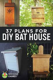 Free Diy Projects 37 Free Diy Bat House Plans That Will Attract The Natural Pest