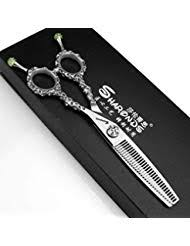 sharonds bearing hairdressing scissors set 6 0 inch japan 440c material japanese professional and japanes