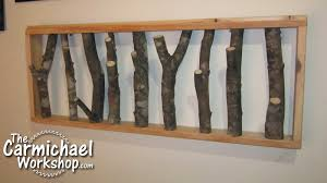Tree Limb Coat Rack The Carmichael Workshop Tree Limb Coat Rack 52