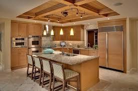 stylish track lighting. Kitchen With Stools And Pendant Track Lighting : Stylish Fixtures E
