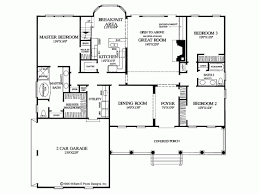 Farmhouse House Plan   Square Feet and Bedrooms from    Level