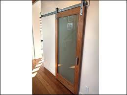 wall mounted sliding wood barn door