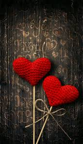 red heart wallpaper. Simple Heart Bronze Wood Red Hearts Wallpaper For Heart V