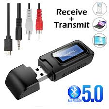 <b>Bluetooth 5.0</b> Audio Transmitter EDR A2DP Low Latency Type c ...