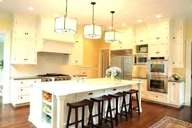 counter height kitchen island of bench pendant lights bar over countertop overhang for stools