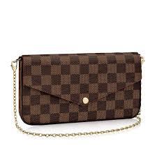 Best Designer Crossbody Herrosy Women Checkered Shoulder Purse Crossbody Cluth Designer Evening Wallet 3 Pieces Handbag Set