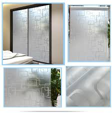 45x400cm self adhesive frosted glass door privacy decoration glass window stickers