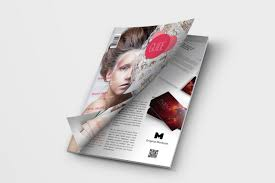 Magazine Cover Design Free Download Free Opening A4 Magazine Cover Mockup Creativebooster