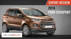 2016 Ford EcoSport | Expert Review Video | CarDekho.com - YouTube
