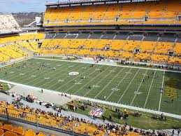 Steelers Seating Chart With Rows Pittsburgh Steelers 500 Level Sideline