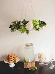 cool flower chandelier we heart hanging wedding decor u0026