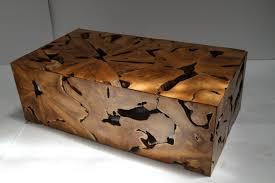 teak coffee table trunk