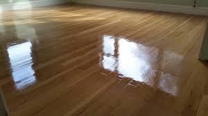 hardwood flooring refinish test