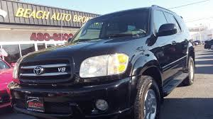 2002 TOYOTA SEQUOIA LIMITED 4X4, CARFAX CERTIFIED, 3RD ROW ...